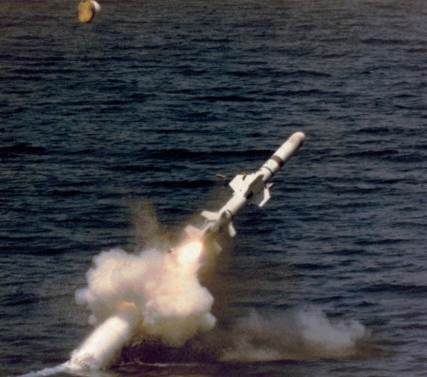 Harpoon lançado por submarino